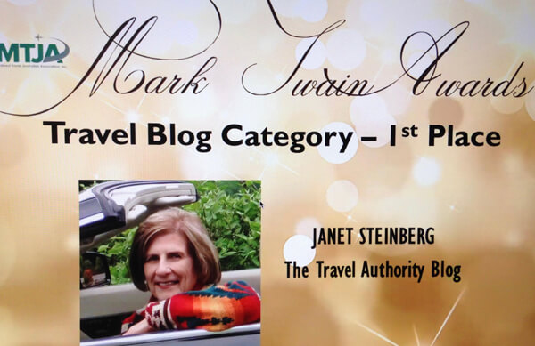 Janet Steinberg wins Mark Twain Award