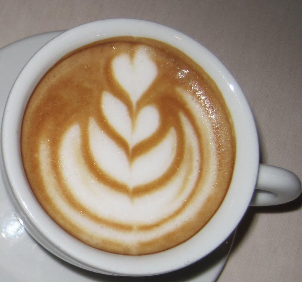 Cappuccino with design