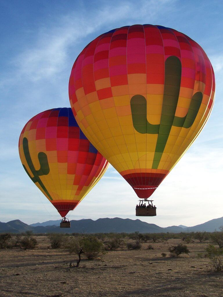 Hot Air Balloons at The Boulders