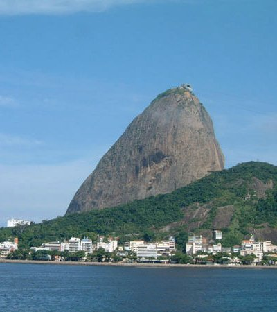 Rio's Sugarloaf seen while sailing around the world