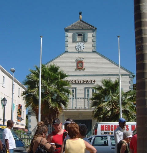 St Maarten or St Martin courthouse