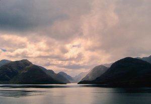 Great View of Chilean Fjords