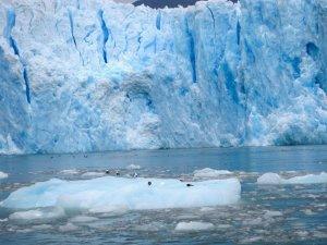 A grand view of a glacier in Laguna San Rafael