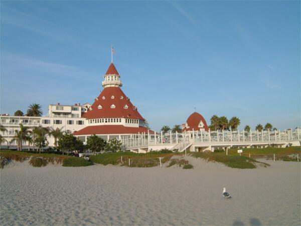 Hotel Coronado where Some Like it Hot was Filmed