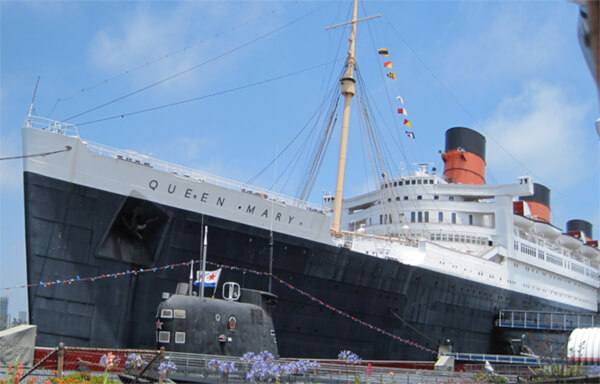 The Queen Mary ship where The Natural was filmed