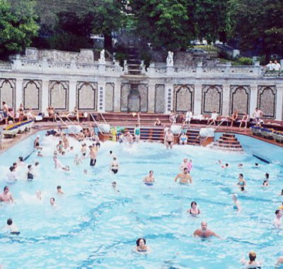 giant public bath is a type of travel experiences you can only try in specific places in the world